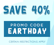 Save with promo code EARTHDAY